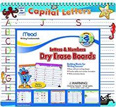 Mead Letters and Numbers Dry Erase Boards, 12-1/2 x 11-1/4-Inches (54216)