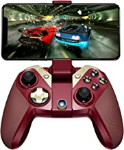 GameSir M2 for Mobile Phone Game Controller Wireless iOS Gamepad Controller Compatible with iPhone iPod iPad Mac Apple TV, Red