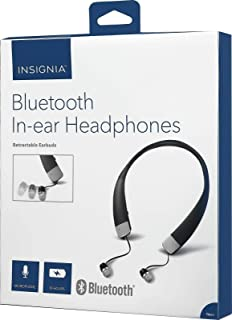 Insignia - NS-CAHBTEB02 Wireless In-Ear Headphones - Black (Renewed)