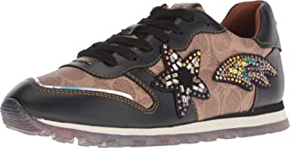 Womens C118 Runner with Signature Coated Canvas and Shooting Star