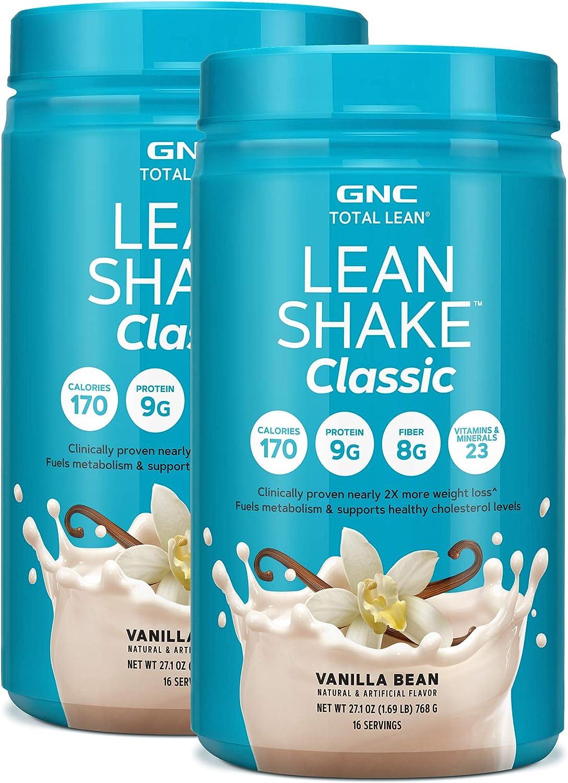 GNC Total 35% OFF Lean Shake Classic Vanilla Protein - Powder Max 59% OFF Bean