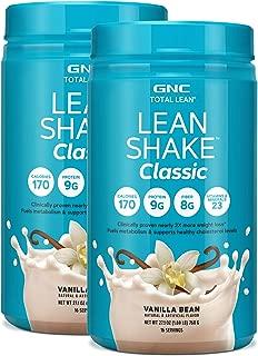 GNC Total Lean Lean Shake Classic - Vanilla Bean - Twin Pack