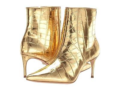 Schutz Ravel (Ouro New Crocodile Metallic/Metallic Nappa) Women