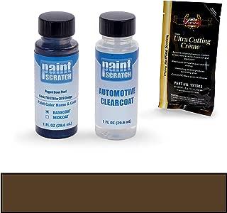 PAINTSCRATCH Rugged Brown Pearl TW/GTW for 2019 Dodge Ram Series - Touch Up Paint Bottle Kit - Original Factory OEM Automotive Paint - Color Match Guaranteed