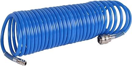 Spiral-Druckluftschlauch 10 m Max Betriebsdruck 10 bar Silverline 269591