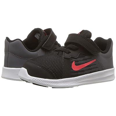 Nike Kids Downshifter 8 (Infant/Toddler) (Black/Bright Crimson/Dark Grey/White) Boys Shoes