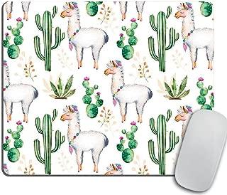 Llama Love Desk Set, Mouse Pad Cacti, Desert, Alpaca Mousepad, Desk Accessories, Llama..