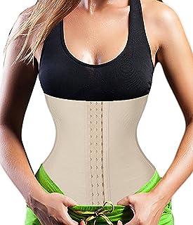 HAPPYEE Women Girdle Tummy Control Waist Trainer Corset for Weight Loss Hourglass Body Shaper