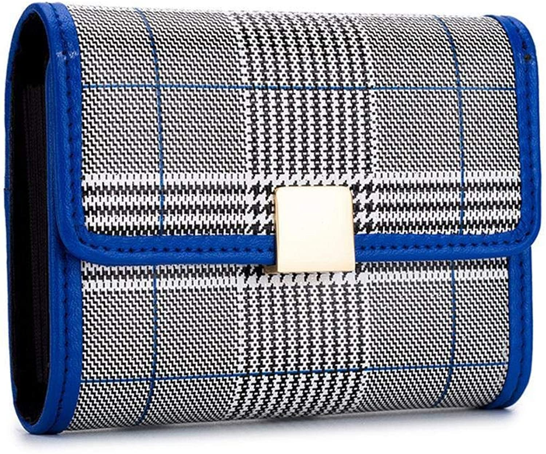 Girls Purse Women's Wallet Lady MultiCard Bag Wallet Business Card Bag Change Bag 10  7.7  2.8cm (color   B)