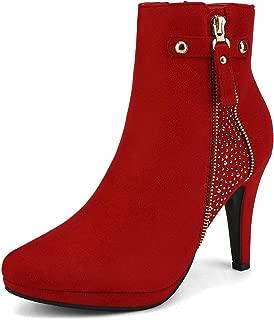 Women's Platform High Heel Ankle Booties