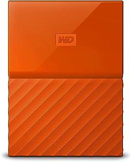 WD 2TB My Passport Portable External Hard Drive USB 3.0 Orange -WDBS4B0020BOR