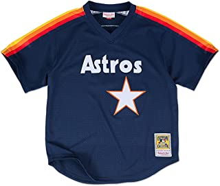 97c179700210 Mitchell   Ness Craig Biggio Houston Astros Authentic 1991 BP Jersey