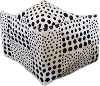 3D Face mask of cotton fabric by hand made 2 pcs - pack of 2 masks كمام قماشي للوجه من القطن
