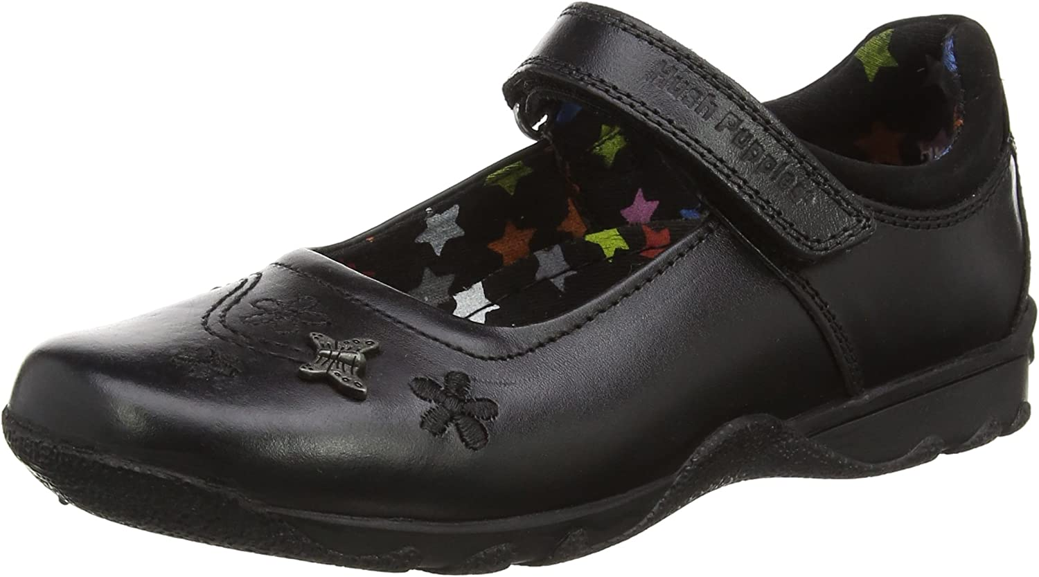 Hush Puppies Womens Clare Back to School shoes Black Size UK 2.5 EU 35