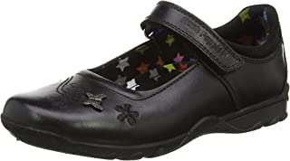 Hush Puppies Clare Jnr Girls Leather School Shoes