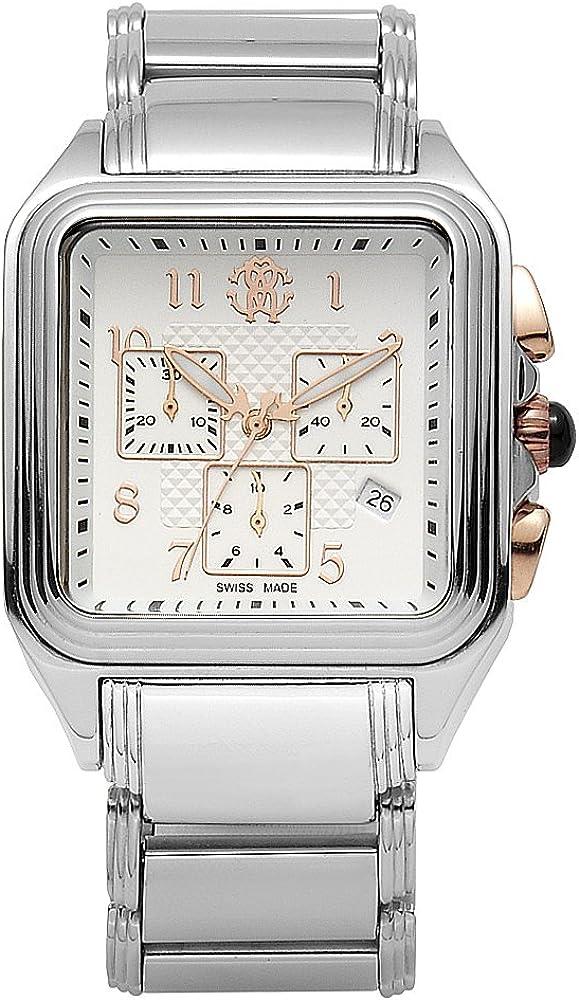 Roberto cavalli `venom`,  orologio,cronografo da uomo,in acciaio inossidabile 7253692145