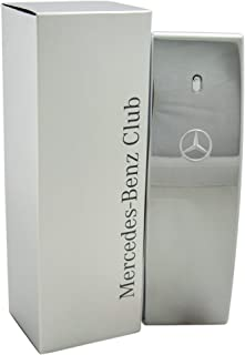 Mercedes Benz | Club | Eau de Toilette | Spray for Men | Woody Aromatic Scent | 3.4 oz