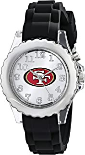 Game Time Youth NFL Flash Black Watch - San Francisco 49ers