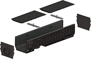 Standartpark - 8 inch trench drain ADA cast iron grate package - PC8540