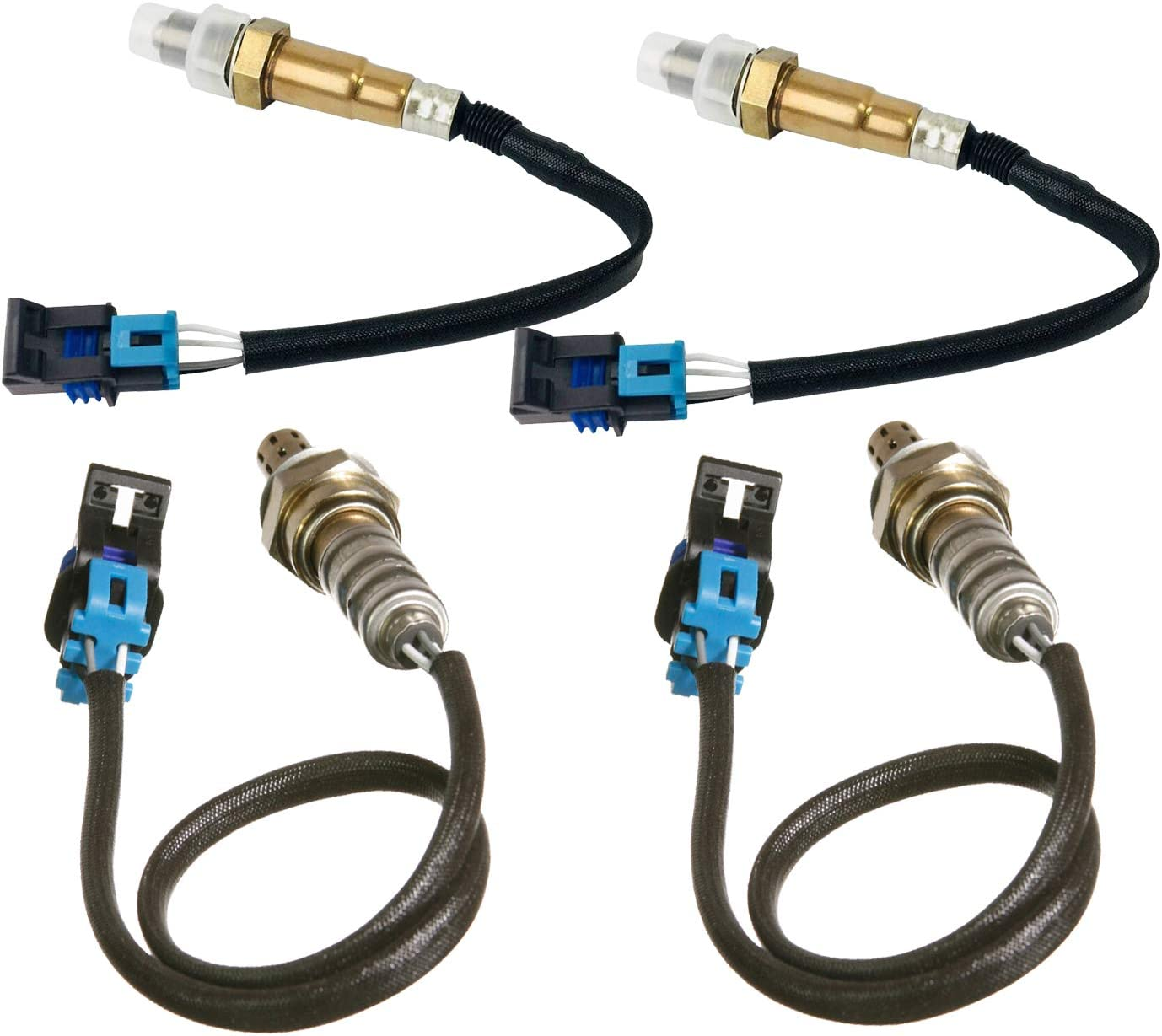 MAXFAVOR 234-4565 Omaha Mall x2 Product 234-4566 O2 Chevy Replacment for Sensor