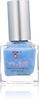 Mini Mani Moo Special Stamping Polish Pastel, Blue, 0.5 Ounce