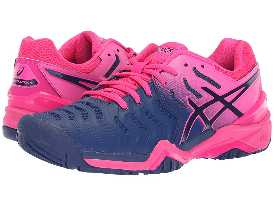 ASICS Gel-Resolution 7 (Blue Print/Blue Print) Women