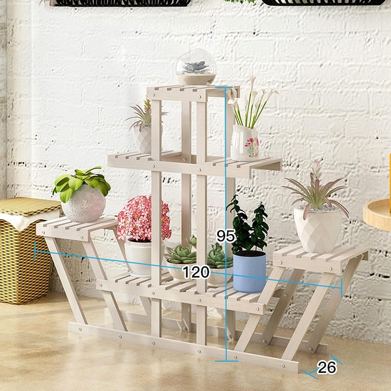 BOBE Shop- Blaumenstnder Wohnzimmer Büro Blaumentopf Rahmen (Farbe   Wei)
