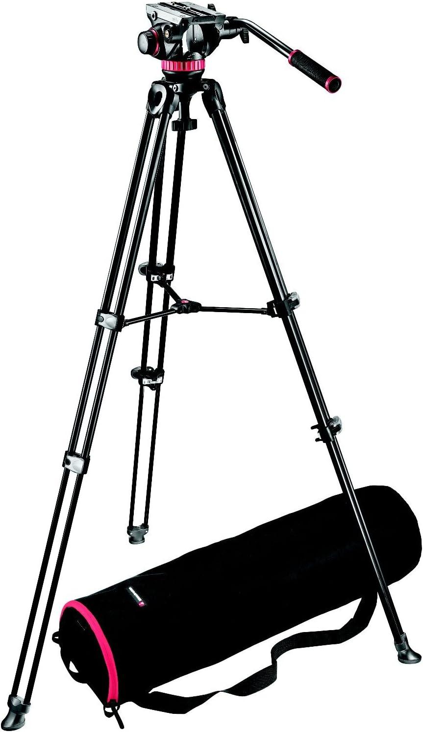 Manfrotto Video Set Inkl Mvh502a Neiger Mvt502am Kamera