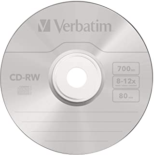 Verbatim 43480 CD-RW 12x 10 Pack Spindle