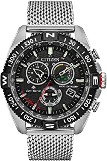 Men's Citizen Eco-Drive Promaster Navihawk Mesh Bracelet Watch CB5840-59E