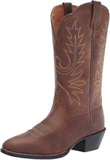 Heritage Round Toe Western Boots - Women's Leather Cowgirl Boots