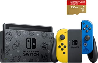 Newest Nintendo Switch Special Edition, Fort nite Wildcat Yellow/Blue, Bundle Fort nite & 2,000 V-Bucks & The Wildcat Outf...