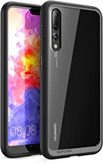 SUPCASE Unicorn Beetle Style Series Case for Huawei P20 Pro,Clear Protective TPU Bumper PC Premium Hybrid Case for Huawei P20 Pro/CLT-L29 6.1 Inch 2018 Release -Retail Package(Black)