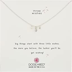Three Wishes Cluster Necklace