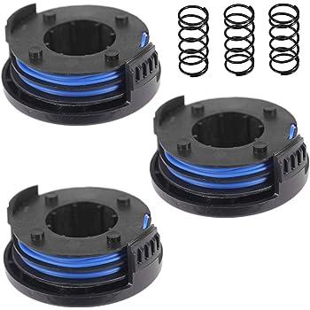 + 1 Spare Spool SPARES2GO 4m Cover Spool /& Line for Qualcast N0F-GT-250//18-E GTLi18 Strimmer Trimmer