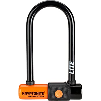 Kryptonite Evolution 11-14mm U-Lock with FlexFrame-U Bracket