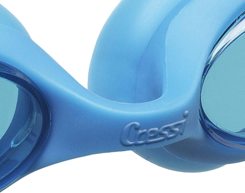 Lenti Infrangibili Antiappannamento//AntiGraffio//Anti UV Cressi Occhialini Nuoto Premium per Bambino a Oculari Separati