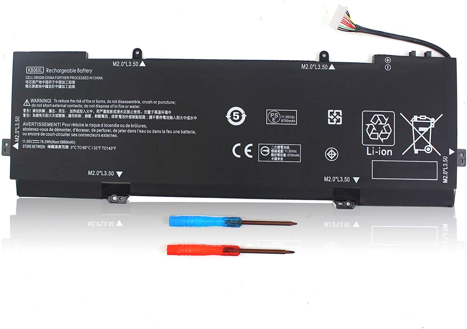 KB06XL 902499-856 902499-855 Battery OFFicial for Spectre HP Seasonal Wrap Introduction X360 Convert