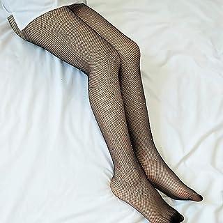 Lodenlli, Lorenlli calcetín sexy de red con diamantes de imitación sexy medias medias medias medias medias para mujeres y mujeres