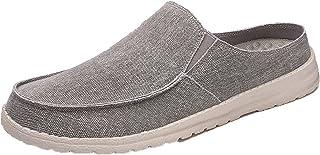Hommes Chaussures Plates Printemps été Chaussures de pêcheur Espadrilles légères élégantes Chaussures en Toile antidérapan...