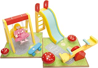 Le Toy Van Daisylane Outdoor Playset Premium Wooden Toys for Kids Ages 3 Years & Up