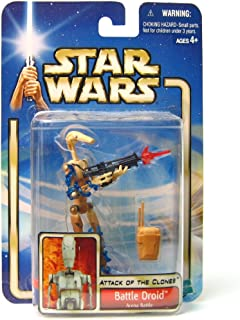 Star Wars Attack of The Clones (AOTC) Action Figure- Battle Droid Arena Battle