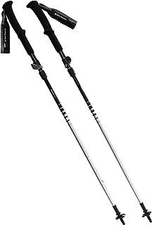 Black Diamond DISTANCE FLZ Z-POLES, lätta och justerbara vandringskäppar (trailrunning), vikbar, aluminium