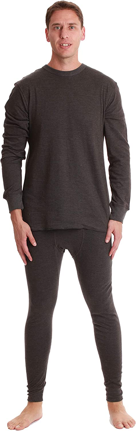 #followme It is very popular Double Layer Thermal Underwear Heavy Boston Mall for Men Set Weigh