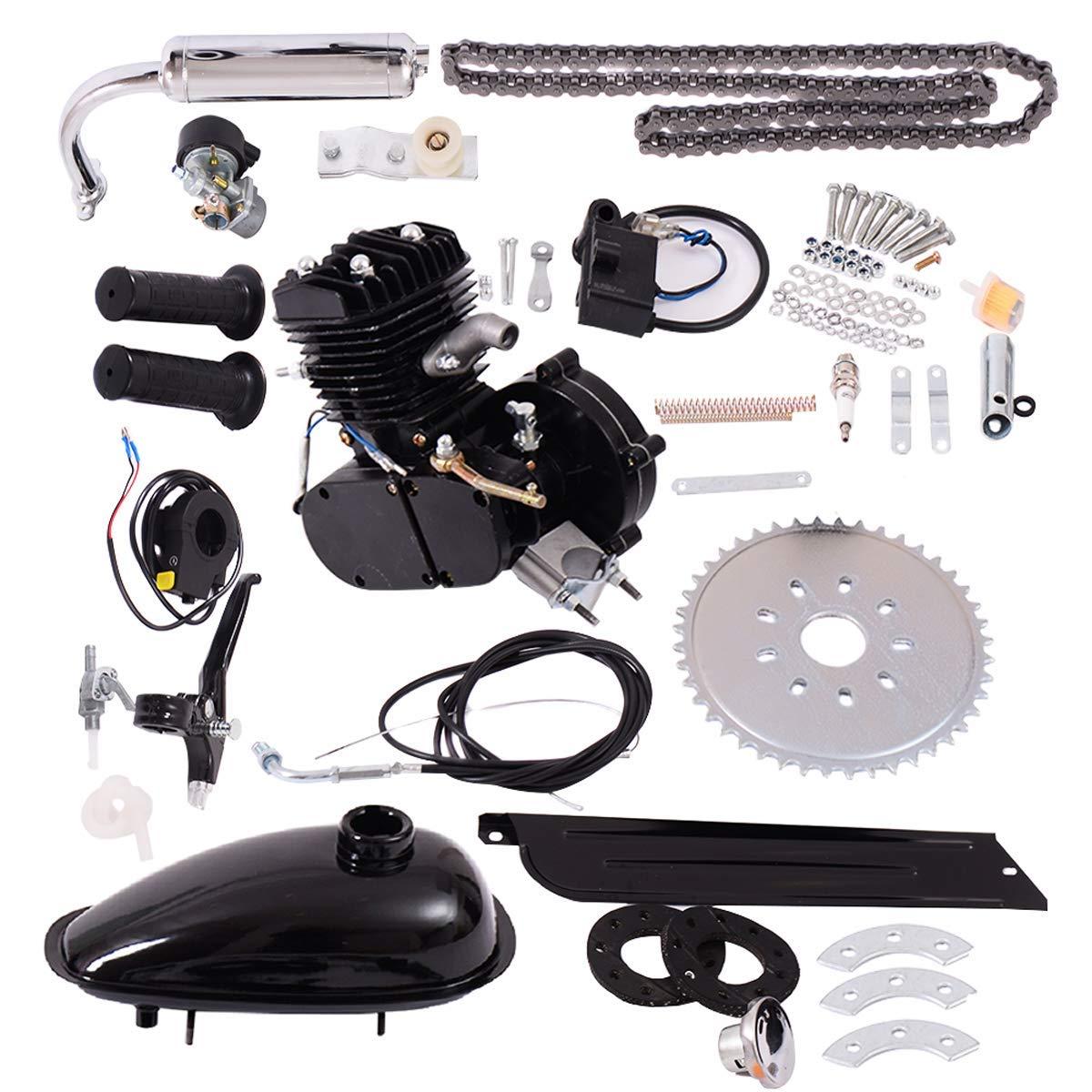 G Motor de la Bicicleta Kit 80cc 2 Stroke-Kit Bicicletas Asoline ...