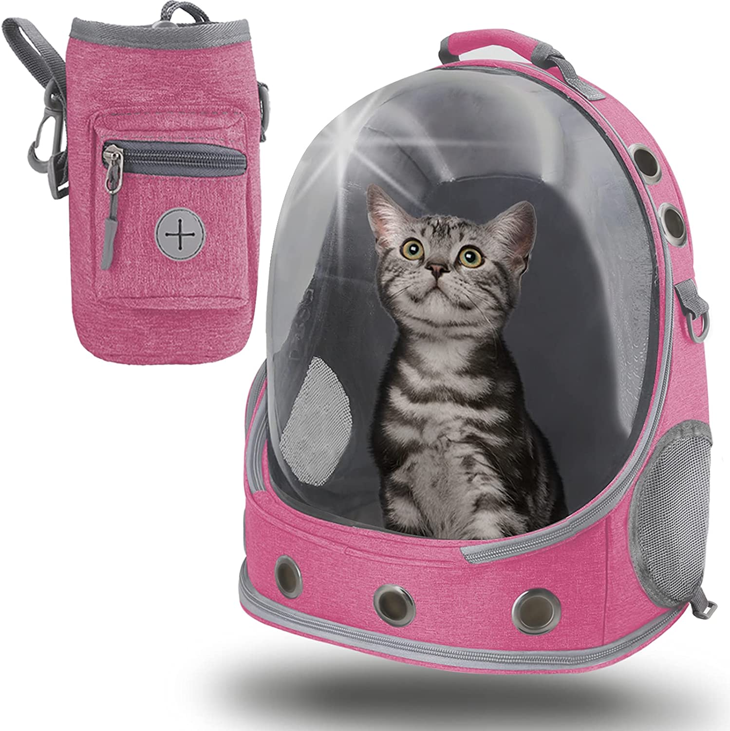 shop Cat Backpack Carrier 240°Transparent Pet Ventilated B Fort Worth Mall