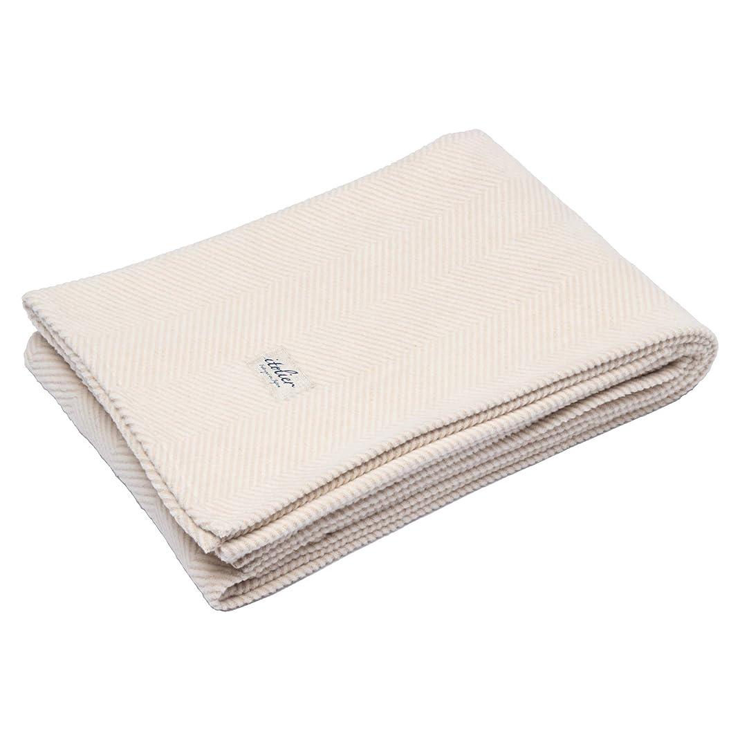 カエルこれまで牽引西川(Nishikawa) 綿毛布 ベージュ シングル 綿100% オーガニックコットン ふんわり 日本製 イトリエ FQ09101006BE