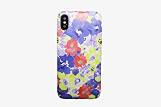 Fashion flowers slim edge cover for Iphone X/Xs, Multicolor
