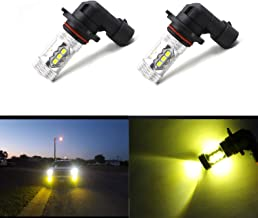 9006 HB4 Fog Light Bulbs LED HB4 Extremely Bright 16 SMD 3030 Gold Yellow Spot Light Bulbs Lamps (Pack of 2)
