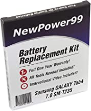 NewPower99 Battery Replacement Kit with Battery, Instructions and Tools for Samsung Galaxy Tab 4 7.0 SM-T235